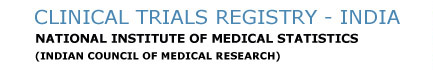 Clinical Trials Registry India (CTRI)